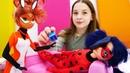 Леди Баг и Рена Руж в СПА салоне Видео для девочек