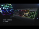 ROG Strix Flare - Mechanical Gaming Keyboard with a Customizable Badge ROG