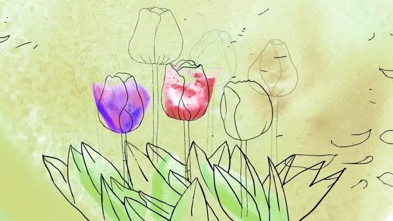Видеоролики студентов факультета искусств СПбГУ, посвященные Фестивалю тюльпанов 2018 года