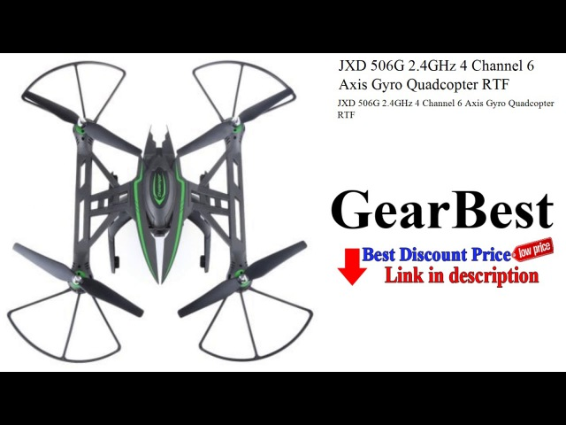 JXD 506G 2.4GHz 4 Channel 6 Axis Gyro Quadcopter RTF | Gearbest | GearBest review