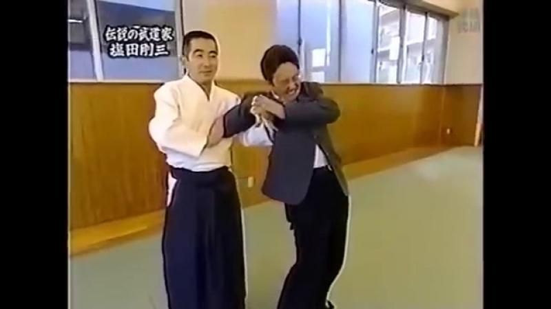 塩田剛三 伝説の武道家 アナウンサーが養神館合気道を体験 Shioda Gozo