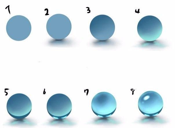 Объемный шарик