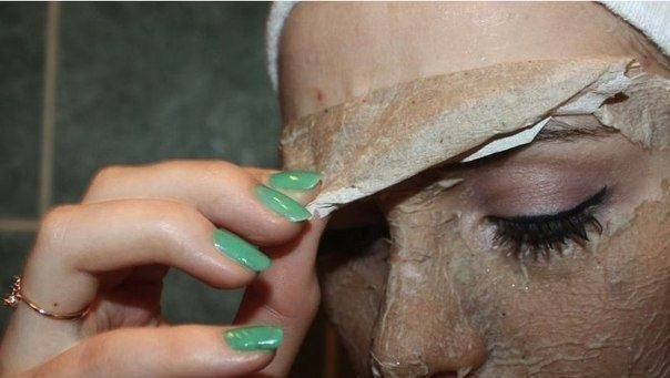 Яичная маска-пленка. Отличная альтернатива очищающим полоскам (фото поэтапно)!