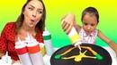 PAN CAKE ART CHALLENGE БЛИННЫЙ ЧЕЛЛЕНДЖ Back To School Вики Шоу