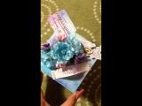 Коробочка(Magic Box) для денег на свадьбу (ручная работа)