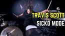 Travis Scott Sicko Mode Matt McGuire Drum Cover