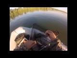 Ловля леща с лодки на реке Обь в июле...(Рыбалка 6 июля 2013)