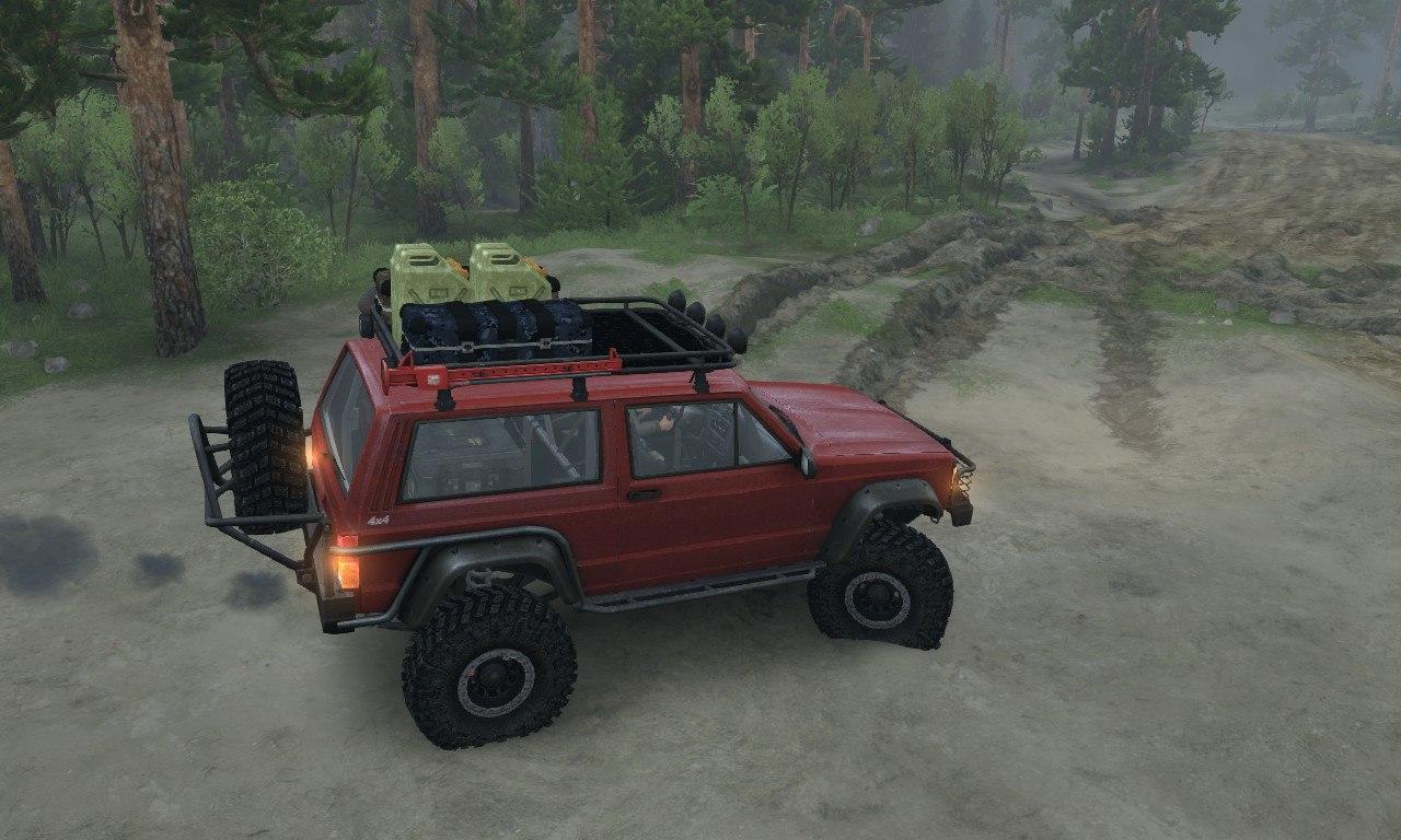 Jeep Cherokee SE 3-door для 03.03.16 для Spintires - Скриншот 1