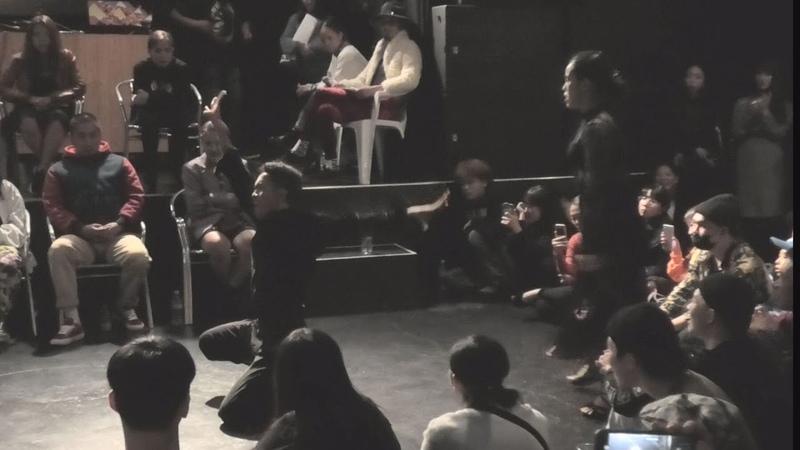 WAACK CITY 2018 FINAL 決勝 Yoonji vs Danzel