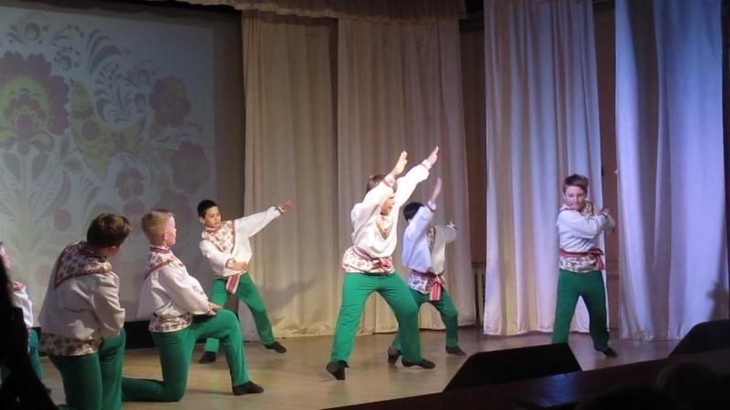 Выступление 18 марта 2018 Танец Сибиряки