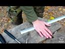 Нож Разведчика или НР40 рубит гвозди и алюминий КрашТест неубиваемый нож НР 40.m