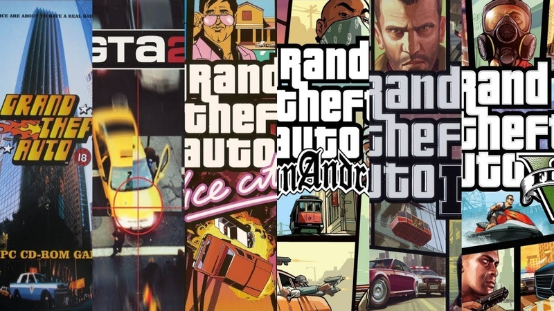 Эволюция Grand Theft Auto ★ The Evolution GTA (1997-2018)