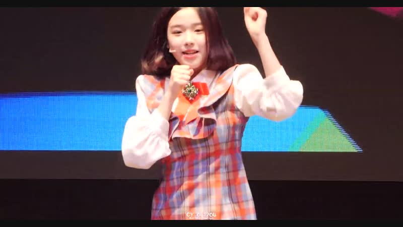 4K 60P 181202 버스터즈 Busters 채연 ChaeYeon 마블링 @ LOVELY PARTY 2회 직캠 Fancam by CY 041204