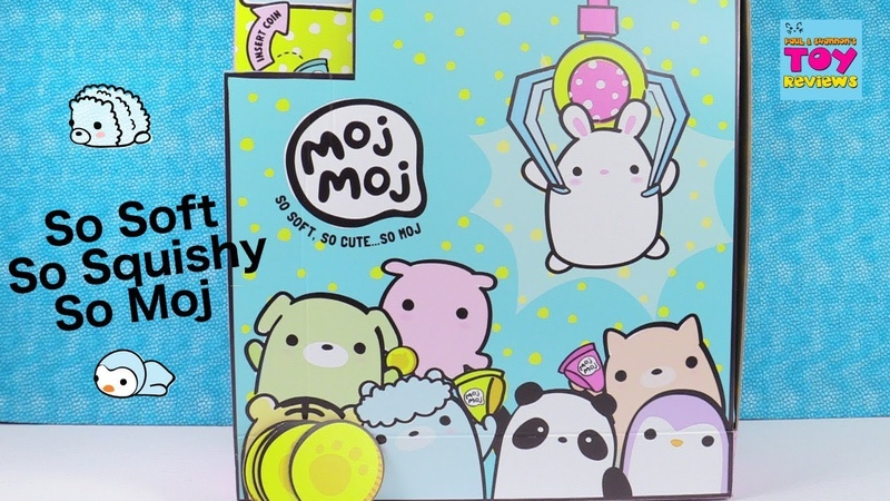 Moj Moj Super Squishy Collectibles Blind Bag Opening Series Toy Review   PSToyReviews