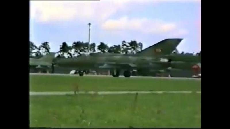 East Germany MiG-21, Rothenburg Airbase