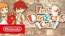 Little Dragons Café — релизный трейлер Nintendo Switch