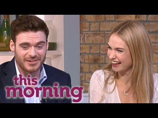 Cinderella Interview: Lily James And Richard Madden | This Morning
