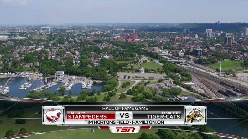 CFL 2018 Week 14 Calgary Stampeders - Hamilton Tiger-Cats 1Н EN