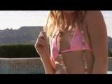 Ariana in a Pink Micro Thong Bikini