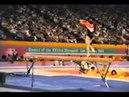 Мама Джексона из GOT7 Zhou Ping Sophia Chow Китай - 1984 Олимпиада - бревно 1