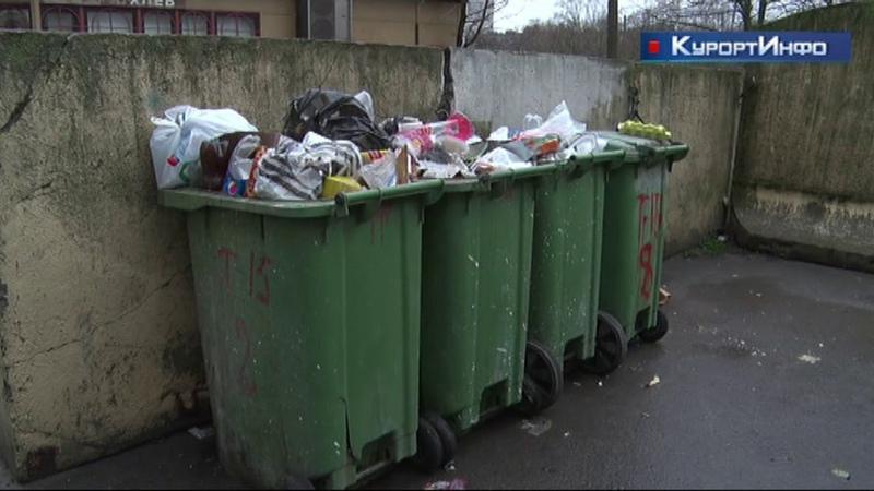 До конца года в Курортном районе введена аварийная схема вывоза мусора от населения