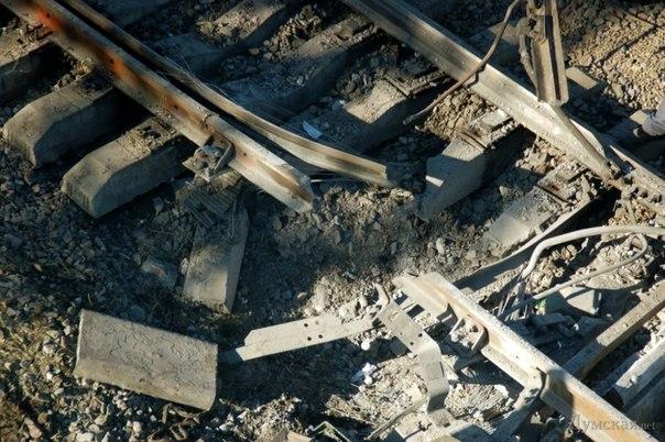 На Харьковщине очередной взрыв: теперь на железной дороге