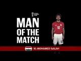 MOHAMED SALAH (Egypt) − Man of the Match