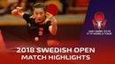 Ding Ning vs Chen Xingtong | 2018 ITTF Swedish Open Highlights (R16)