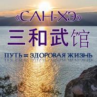 "Логотип ТЮМЕНСКАЯ ШКОЛА ТАЙЦЗИЦЮАНЬ ""САН-ХЭ"""