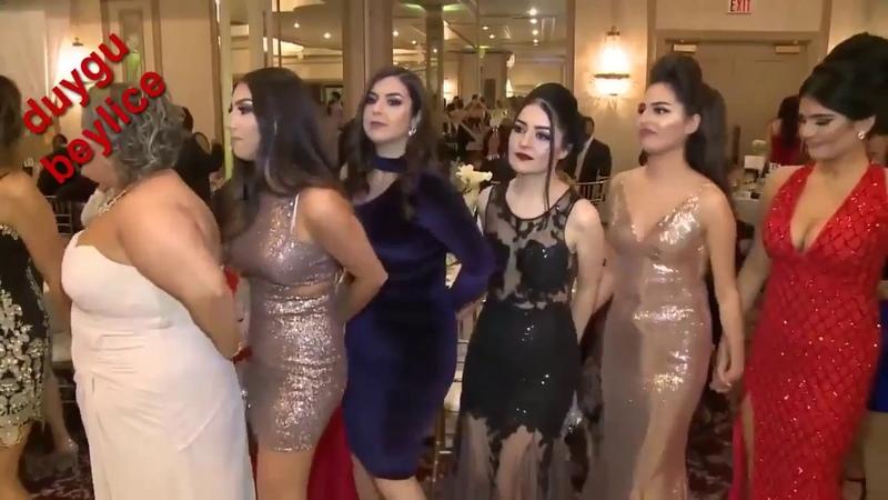 Zengin Arap Sosyete Kızları Bu Düğünde Buluştu