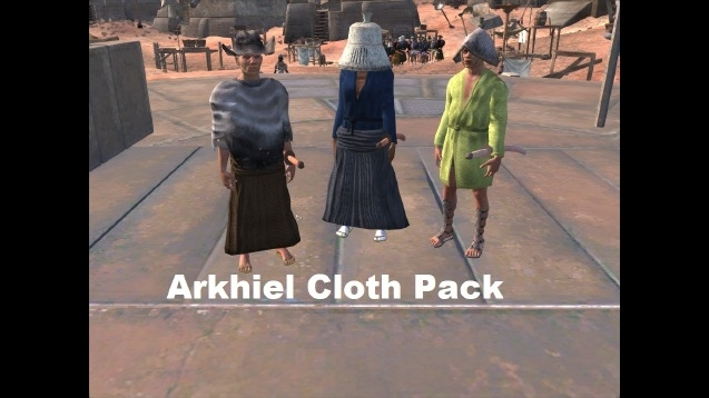 Arkhiel Cloth Pack / Пак одежды от Архиэля
