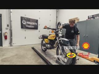 Two-stroke engine rebuild time-lapse - 1978 Kawasaki KE100 motorcycle