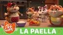 """44 Gatti - serie TV Canzone """"La Paella"""" VIDEOCLIP"""