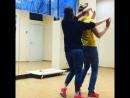 Bachata. Бачата для средней группы. Школа танцев Надежды Гущиной. Москва