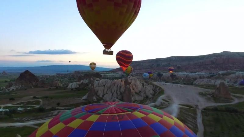 Каппадокия _ Полет на воздушном шаре