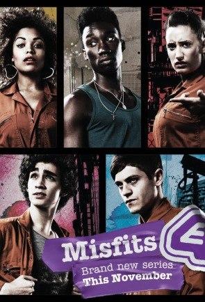 Отбросы / Misfits | Сезон 1