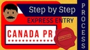 🇨🇦 Canada PR Step by Step Process Express Entry 2018