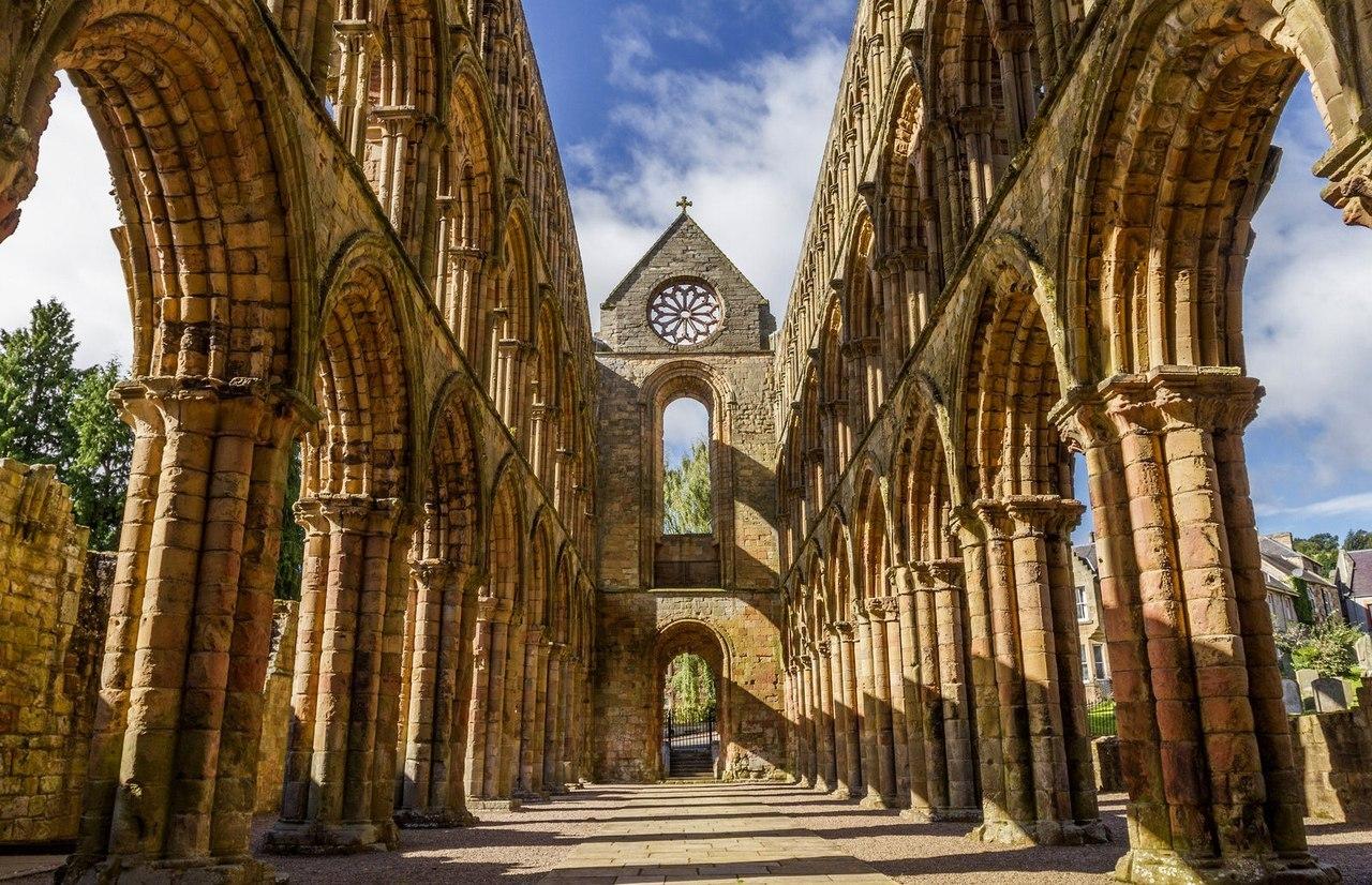 Jedburgh Abbey, Jedburgh, Scotland