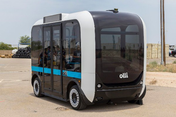 Мини-автобус напечатанный на 3D-принтере