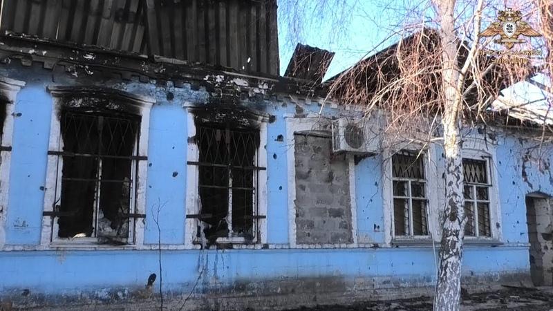 ВСУ сожгли второй магазин в Коминтерново