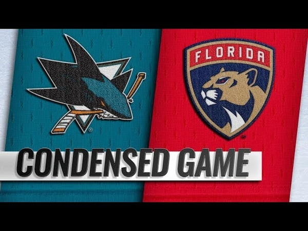 San Jose Sharks vs Florida Panthers Jan 21 2019 Game Highlights NHL 2018 19 Обзор матча
