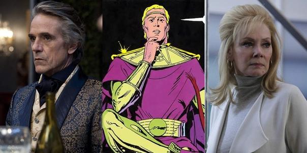 Стала известна роль Джереми Айронса в сериале по «Хранителям» Пока создатели телеверсии «Хранителей» не спешат делиться подробностями о сюжете и персонажах проекта, Slashfilm раскрыли
