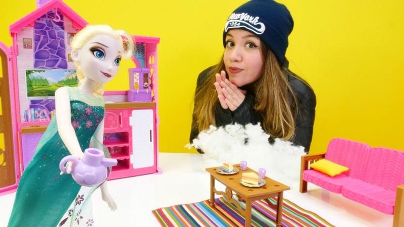 Karlar Ülkesi. İrem kaybolunca Elsa'ya misafir oluyor