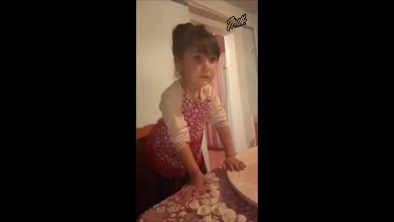 Типичный руске ребёнок