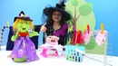 Видео для девочек Кати и Баба Яга делают уборку