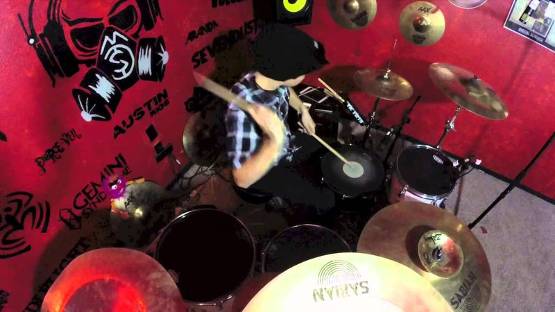Five Finger Death Punch Wrong Side Of Heaven Drum Cover by Austin Rios