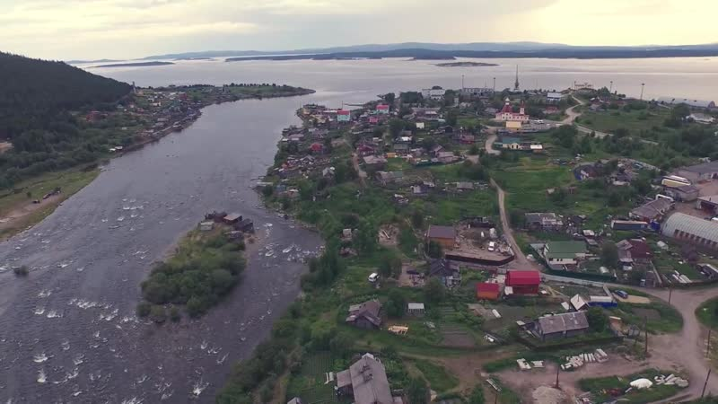 Кандалакша_ река Нива