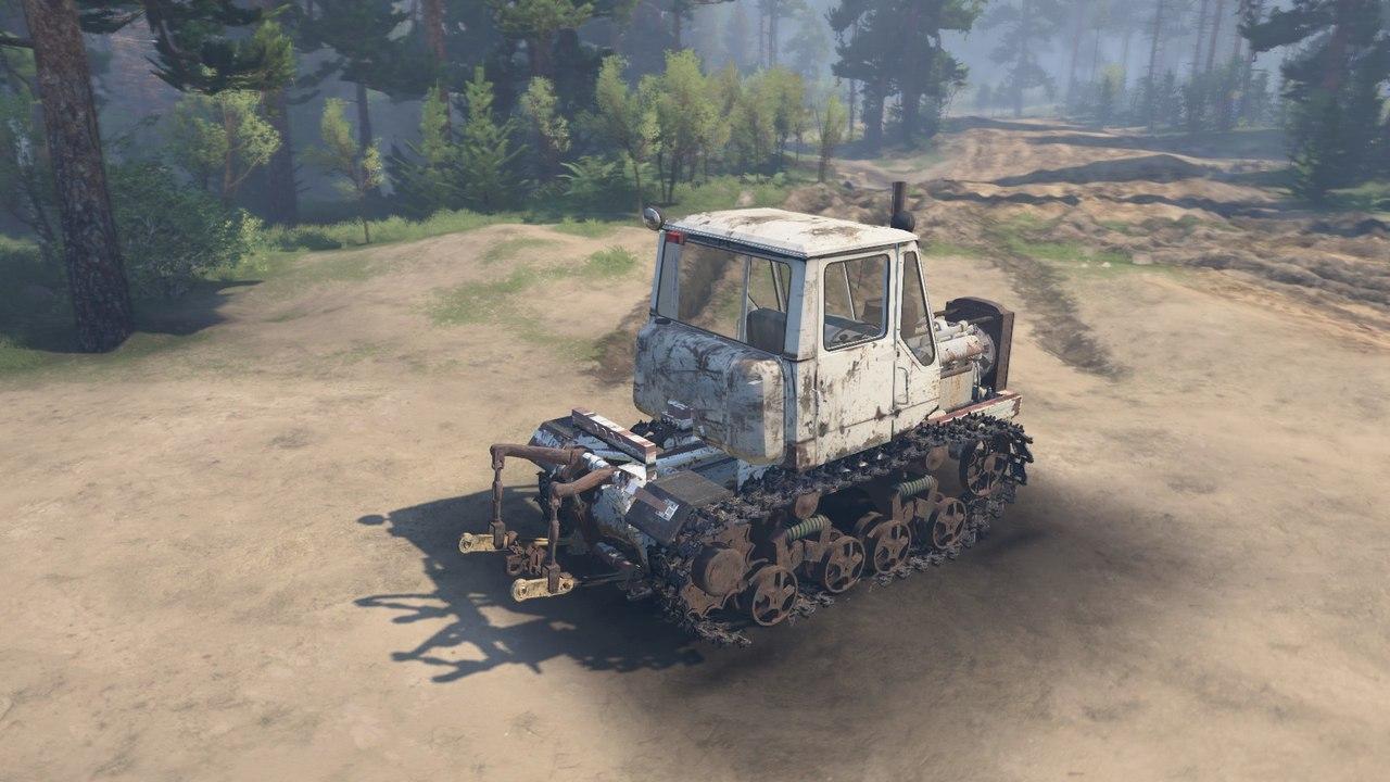 Гусеничный трактор Т-150 для 03.03.16 для Spintires - Скриншот 3