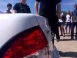Машина Белая приора Р245ЕН Соревнование по музыке