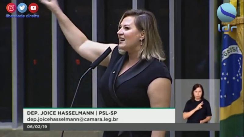Joice Hasselmann faz primeiro discurso na Câmara: Brumadinho, PT, Bolsonaro